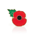 The Royal British Legion Poppy Lapel Pin