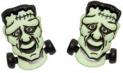 Bluebubble TRICK OR TREAT Frankenstein Monster Stud Earrings With Gift Box