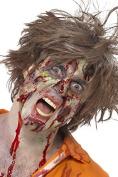 Professional Zombie Make Up Kit 12 Piece Liquid Latex Fake Blood Capsules Horror Flesh And Applicators