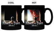 Attack on Titan Colour Change Coffee Mug Eren Titan Window Heat Change Mug