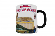 Morphing Mugs National Lampoon's Christmas Vacation Ceramic Mug, Black