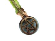 Pentacle Necklace, Pentagram Pendant, Wiccan, Spiritual Jewellery, Pentacle Pendant, Pagan,10pcs