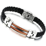 Brand New Titanium with Silicon Wrist Band Energy Bracelet Sporting Style Anti-fatigue and Pain Relief in a Gift Box
