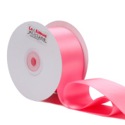 Laribbons 5.1cm Wide Double Face Satin Ribbon - 25 Yard