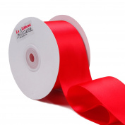 Laribbons 5.1cm Wide Double Face Satin Ribbon - 25 Yard