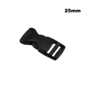 1 Inch(25mm) ABS Plastic Adjustable Side Release Buckles