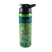Teenage Mutant Ninja Turtles NT6789ST TMNT Since '84 750ml Stainless Steel Water Bottle, Multicolor