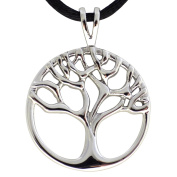 Fantasy Forge Jewellery Women's Stainless Steel Tree of Life Pendant Necklace