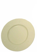 Craft Outlet Tin Plate, 15cm , Off-White, Set of 3