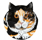 Rescue Me Now Calico Cat Ear Plate, 27cm