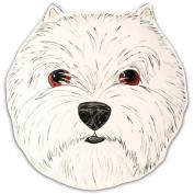 Pavilion Rescue Me Now West Highland Terrier Ear Plate, George, 25cm