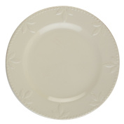 Signature Housewares Sorrento Collection Set of 4 Dinner Plates, 28cm , Ivory