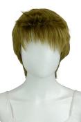 EpicCosplay Hermes Matcha Brown Pixie Hair Wig