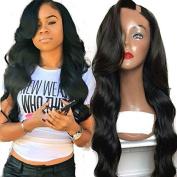 African American Human Hair Wigs for Black Women Brazilian U Part Wigs Virgin Hair 50cm 150 Density