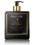 Vine de la Vie oR Noir Shampoo, Organic-Based - Wine Extract Antioxidants, Use on Wet or Dry Hair - 500ml