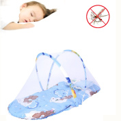 BSL Anti-Mosquito Summer Portable Folding Infant Bed Mosquito Net Mattress Baby Crib Mosquito Netting Cushion