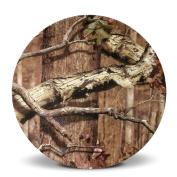 Mossy Oak Break-Up Infinity Round Melamine Salad Plate, 22cm