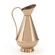 Kuprum Natural Solid Copper Water Wine Olive Oil Pitcher 0.5l