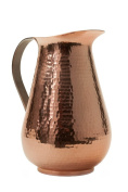 Sertodo Bisotun Water Pitcher, 76 fluid ounces, Hammered Copper