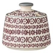 Bloomingville Ceramic Karine Sugar Bowl, Multicolor