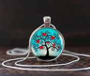 Tree of life pendant, Tree of life necklace, Tree of life jewellery, Woodland jewellery, Tree of life Heart necklace