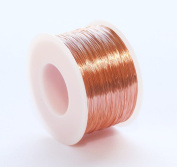 30 Ga Solid Copper Wire 0.2kg. - 470m Spool (DEAD SOFT) Jewellery,Craft & Hobby Wire