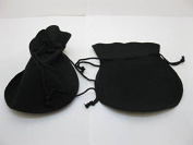 Velvet Drawstring Gift Jewellery Pouches Bags 10x12cm Pack of 50Pcs