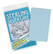 Blitz 21027 Silver Care Cloth-Single-Ply, Treated, 2 Pack