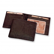 Brown Leather Slimfold Wallet