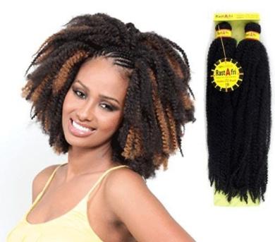 Afro Kinky Braids Rastafri (Off Black #1b)