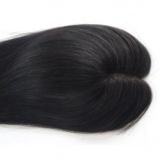 Uniwigs® Charm Remy Human Hair Hand Made Tied Mono Top Hair Topper For Hair Loss Thin Hair