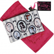 Fluff Cameo Dolls - Cosmetic Bag