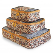 Travel Packing Cubes Set (3 Piece), Ideal for Travel and Closet Organiser