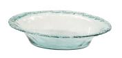 Deco 79 99864 Beautiful Glass Built Fiesta Dish, 50cm W x 13cm H