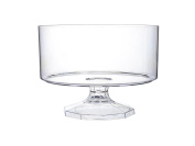 Platter Pleasers 3530 Round Trifle Serving Bowl, 15cm by 11cm , Clear