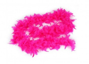 1.8m Adult Party Costume Decoration Feather Boa Fuchsia