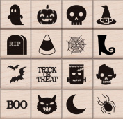 Hero Arts LP412 Halloween Icons Card Making Kit