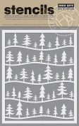Hero Arts SA078 Forest Scene Stencil Card Making Kit