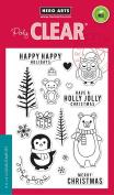 Hero Arts CM103 Holiday Animals Card Making Kit