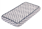 Bacati - Tribal/Aztec Muslin Quilted Changing Pad Cover