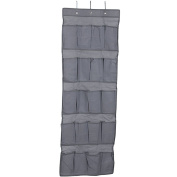 LAYs 20 Pockets Hanging Storage Bag Non-Woven with Hooks for Shoes Door Closet Shelf