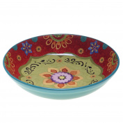 Certified International 22467 Tunisian Sunset Serving/Pasta Bowl, 34cm x 7.6cm , Multicolor