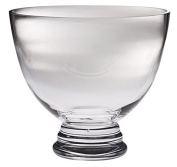 Majestic Gifts Handmade Lead Free Crystal Footed Bowl, Medium, Clear