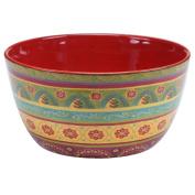 Certified International 22462 Tunisian Sunset Deep Bowl, 28cm x 14cm , Multicolor