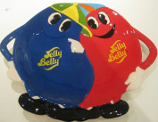 Jelly Belly 2-Section Snack Plate
