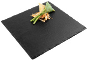 Aps Paderno World Cuisine 12 Square Inch Natural Slate Tray