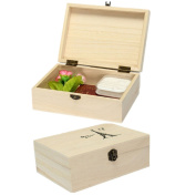 Storage Box, Jia Jia Trade Wooden Decorative Treasure Box Jewellery Storage Cards Collection Gift Box,for Gifts And House Decoration