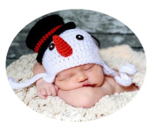 Baby Box Newborn Photography Outfit Props Snowman Hat