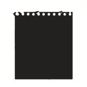Fashionclubs Kids Blackboard Vinyl Peel and Stick Self Adhesive Chalkboard Wall Sticker Wallpaper 58.4cmx 50.8cm