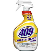 Cleans and Cuts Through Grease and Grime, and Deodorises ,Multi-Surface Cleaner, Spray Bottle, Lemon, 950mls By Formula 409